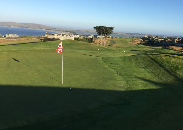 The Links at Bodega Harbour Bodega Bay California Hole 2 Green-side