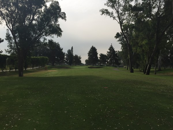 Alhambra Golf Course Alhambra California Hole 1 Par 4