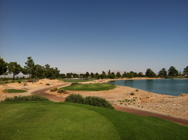 Angel Park Golf Club MOUNTAIN Course Las Vegas Nevada. Hole 18