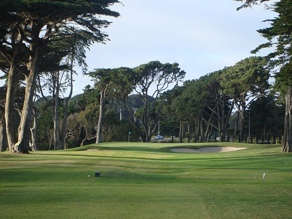 TPC Harding Park San Francisco California Hole 17 Par 3