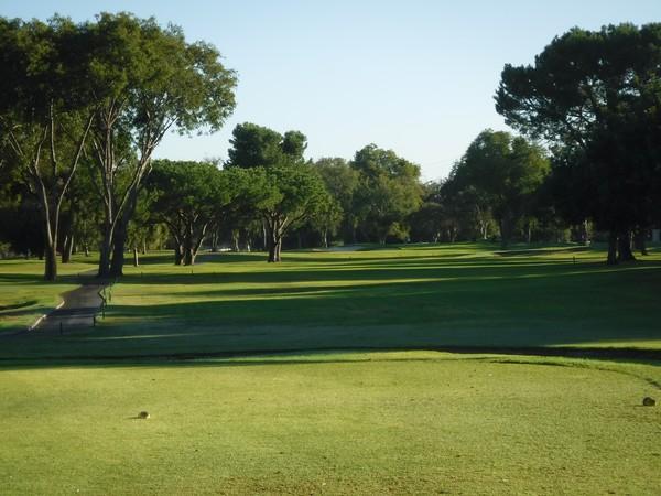 El Dorado Park Golf Course Long Beach California Hole 2 Par 4