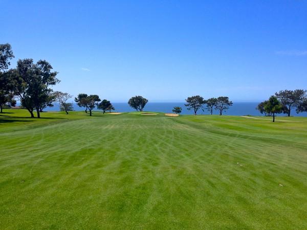 Torrey Pines Golf Course NORTH San Diego California Hole 1