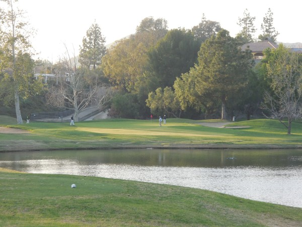 Simi Hills Golf Course Simi Valley CA Hole 15