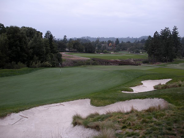 Pasatiempo Golf Club Santa Cruz California Hole 17