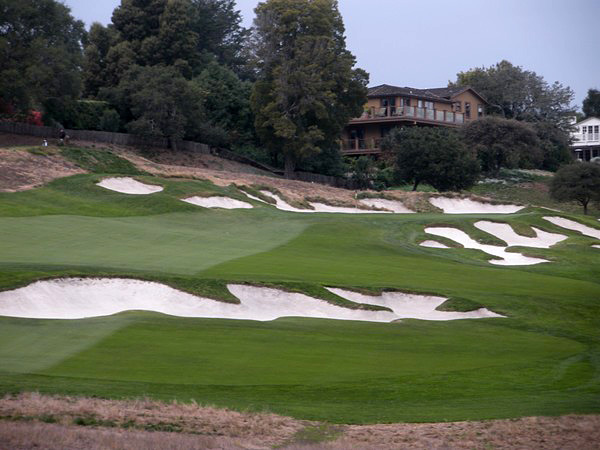Pasatiempo Golf Club Santa Cruz California Hole 3 Par 3