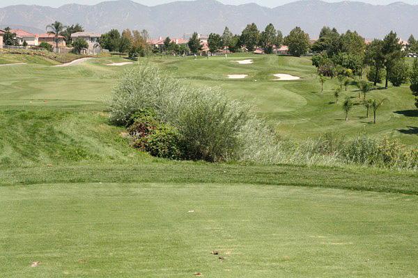 Sierra Lakes Golf Club Fontana California. Hole 12