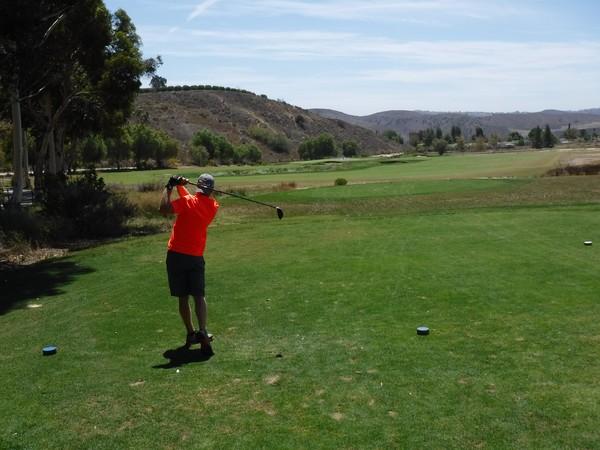 Rustic Canyon Golf Course Moorpark California Hole 3 par 4