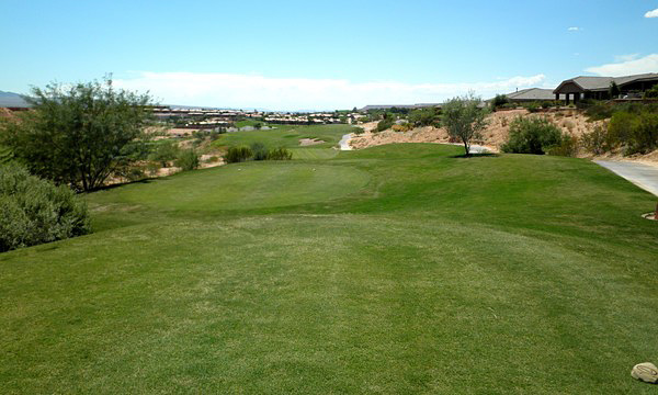 The Oasis Golf Club (The Canyons) Mesquite Nevada Hole 18