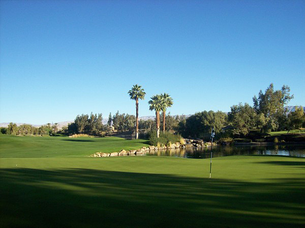 Marriott's Shadow Ridge Resort Palm Desert, CA Hole 9