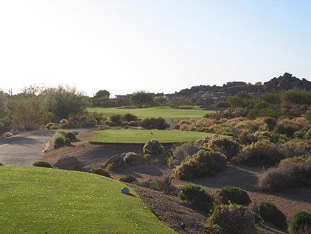Troon North Golf Club PINNACLE Course Scottsdale Arizona Hole 18 Par 4