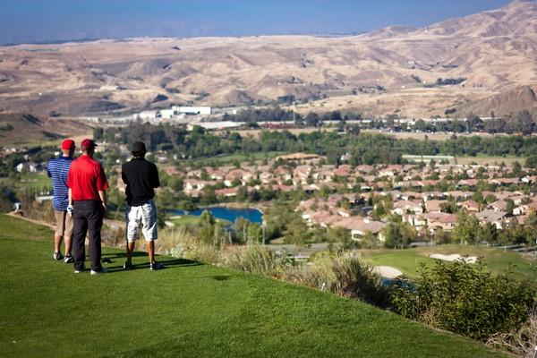 Glen Ivy Golf Club Glen Ivy California Hole 18 Tee