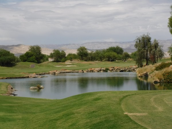 Westin Mission Hills Golf Resort (GARY PLAYER) Rancho Mirage California. Hole 18 Par 4