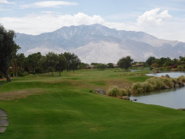 Westin Mission Hills Golf Resort (GARY PLAYER) Rancho Mirage California Hole 11 Par 5