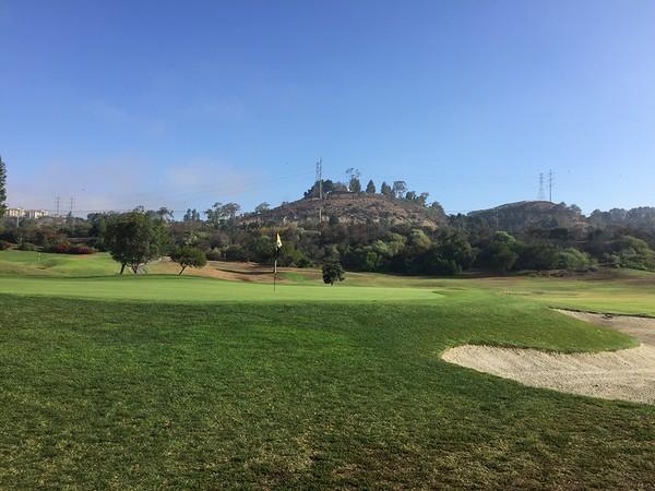 Riverwalk Golf Club Hole 1 San Diego, CA