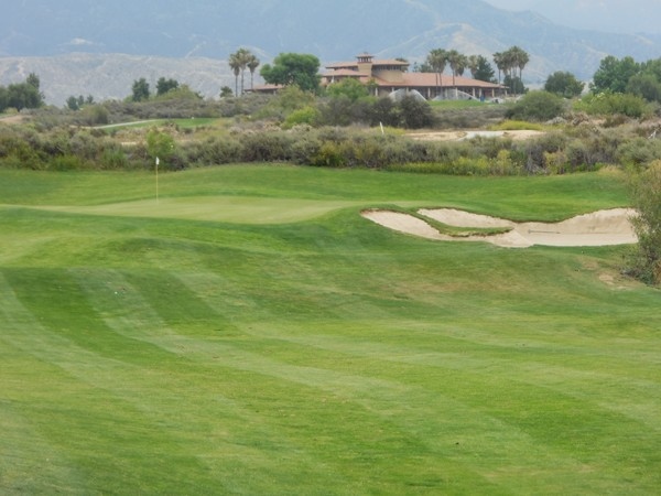 Morongo Golf Club Tukwet Canyon Beaumont California. LEGENDS Hole 17