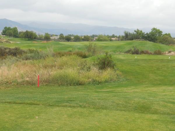Morongo Golf Club Tukwet Canyon (LEGENDS) Beaumont California . Hole 18 Par 4