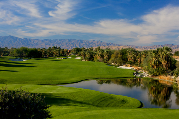 Desert Willow Golf Resort Palm Desert California MOUNTAIN VIEW Course Hole 6