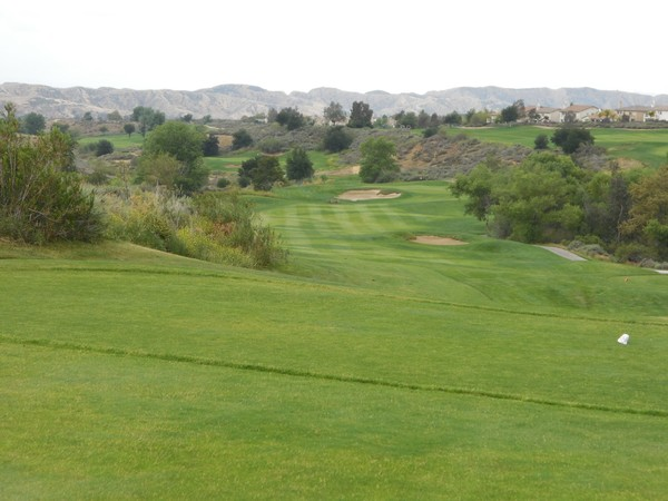 Morongo Golf Club Tukwet Canyon Beaumont California. CHAMPIONS Hole 14