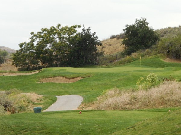 Morongo Golf Club Tukwet Canyon Beaumont California CHAMPIONS Hole 15 Approach