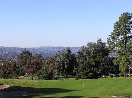 Marshall Canyon Golf Course La Verne California Hole 4 Par 4