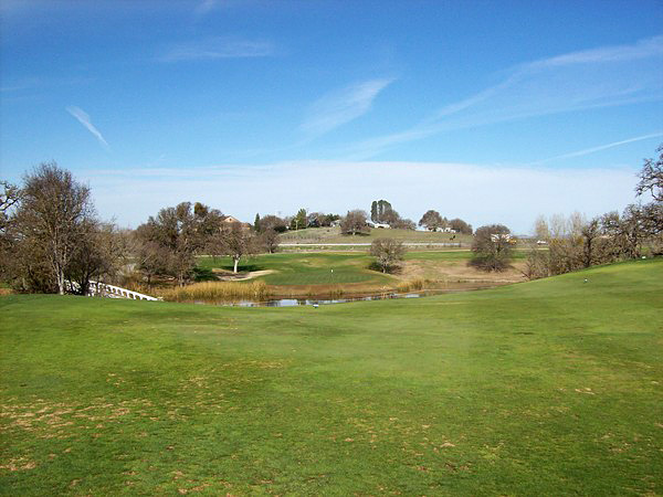 Hunter Ranch Golf Course Paso Robles California. Hole 11