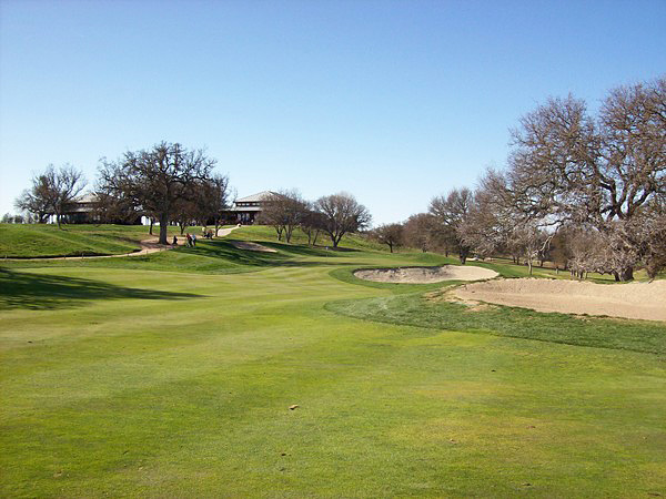 Hunter Ranch Golf Course Paso Robles California. Hole 9