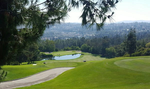 Industry Hills Golf Club (Eisenhower) City of Industry California Hole 2
