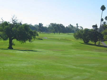 Recreation Park Golf Course Long Beach California Hole 10