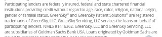 Financing for GreenSky© credit programs is provided by federally insured, federal and state chartered financial institutions without regard to race,color, religion,natinal origin, sex or familialstatus. NMLS #1416362; CT SLC-1416362; NJMT #1501607 C22