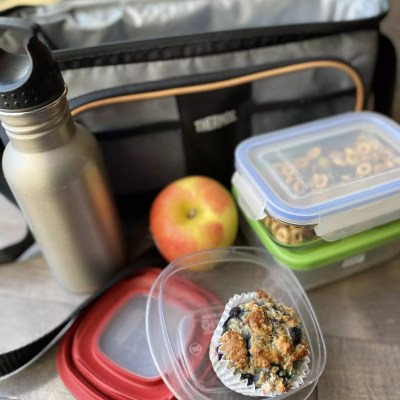 Zero waste snack ideas for school or work