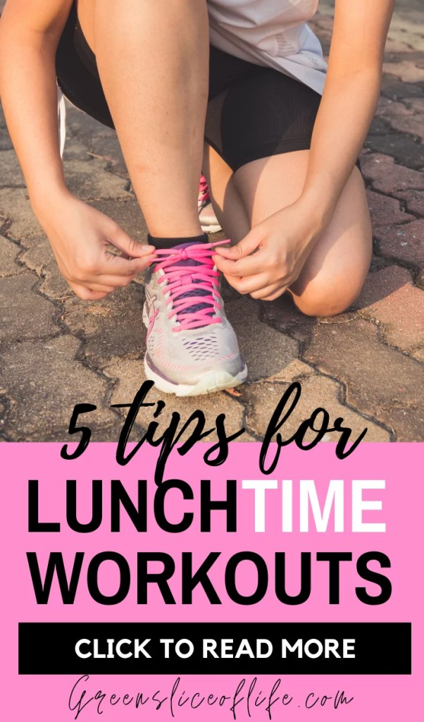 Tips for a Successful Lunchtime Workout
