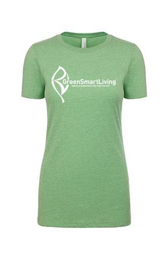 Womens T-Shirt Apple Green