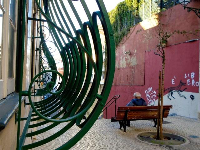 Der alte Mann und der Fuchs: Das Chiado in Lissabon und seine abgeschiedene Seite.
