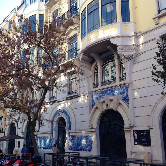 Das Príncipe Real in Lissabon: Rund um die Avenida da Liberdade, die senkrecht durch das Stadtviertel verläuft.