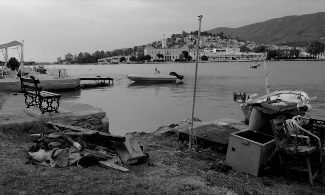 Wandern auf Poros: Immer bis zur nächsten Fotokulisse ... (Poros, Griechenland, September 2020).