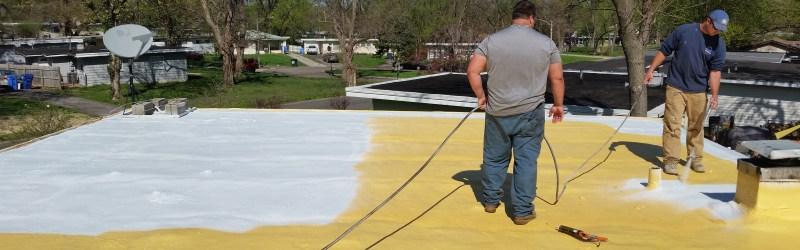 Spray Foam Roofing St. Louis