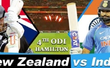 India vs New Zealand 4th ODI Highlights 31 Jan 2019