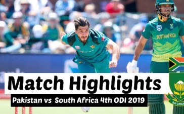 Pakistan vs South Africa 4th ODI Highlights 27 Jan 2019