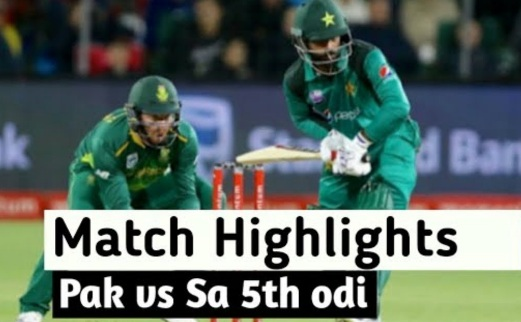 Pakistan vs South Africa 5th ODI Highlights 30 Jan 2020