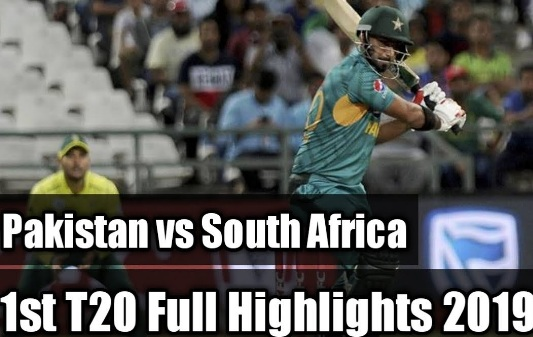 Pakistan vs South Africa 1st T20 Highlights 1 Fab 2020
