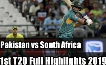 Pakistan vs S Africa 1st T20 highlights
