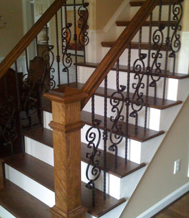 Complete Staircase Installations in Raleigh Cary Apex
