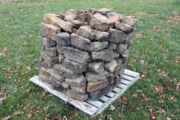 natural stone edging 1 green