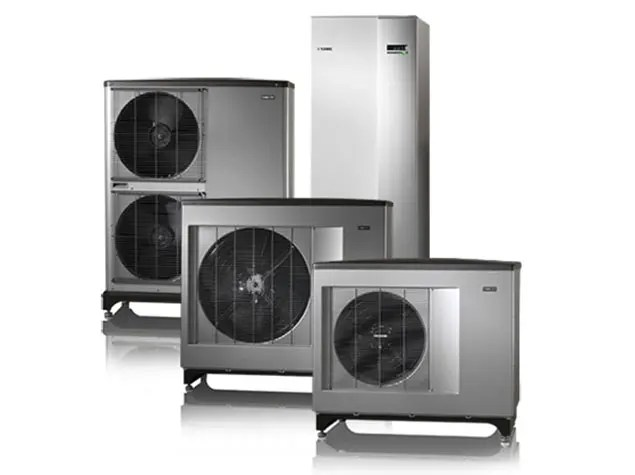 ground source and air source heat pumps