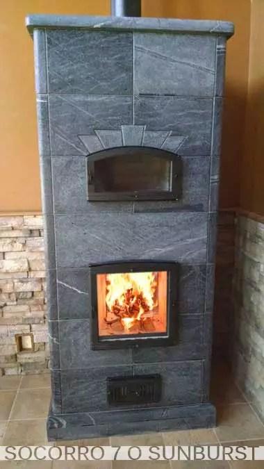 Socorro Series  Greenstone Soapstone Masonry Heaters