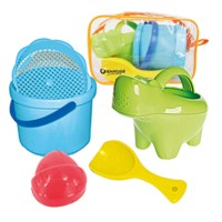 Baby Sandspielzeug SET Hippo mit praktischer Tasche ...
