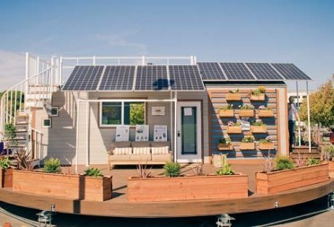 Front Solar TinyHouse Competition small