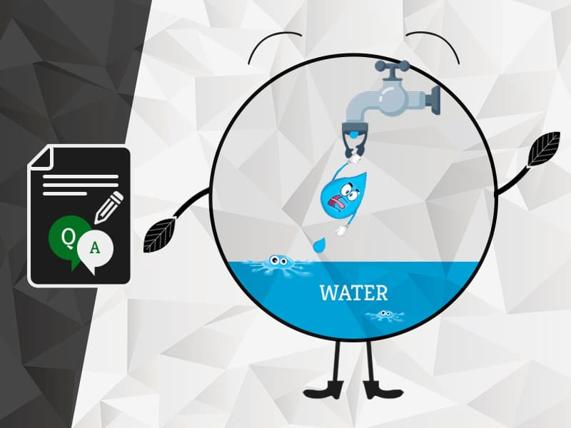 Questions related to Water by Team GreenSutra