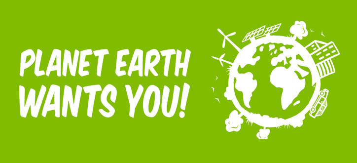 Planet earth wants you