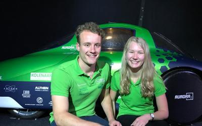 Saxion: Green Team Twente presenteert nieuwste waterstofauto